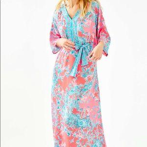 Lilly Pulitzer Carmynn Maxi Caftan Dress